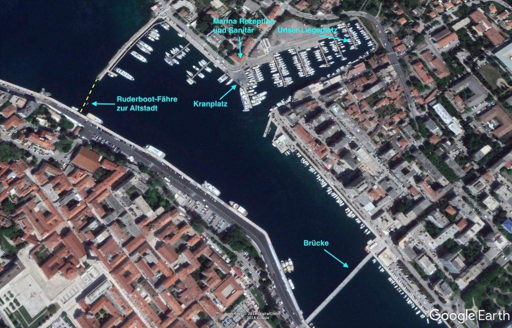 Zadar kurve ZADAR rattan
